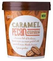 M&S Caramel Pecan Crunch Ice Cream