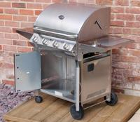 Essentials 4 Burner Gas BBQ