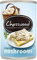 Chesswood Creamed Mushrooms