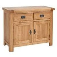 Rustic Jacobean Small Sideboard