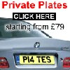 The Private Plate Company www.theprivateplatecompany.co.uk