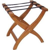 Bolero Folding Wooden Suitcase Stand