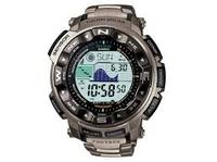 Mens Casio Pro Trek Titanium Alarm Chronograph Radio Controlled Watch prw2500T-7ER