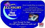 Scottie All Night  Microwave Hot Bottle