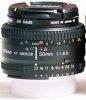 Nikon 50 mm AFD f/1.8