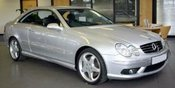 Mercedes Benz CLK 55 AMG Coupe