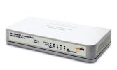Safecom SBRU-10100 - 4 port Cable Router + Printer Port