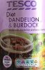 Tesco Diet Dandelion and Burdock