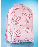 Floral Pink Billabong Backpack