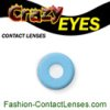 Crazy Eyes Frozen Ghost - novelty contact lenses