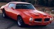 Pontiac Firebird Formula Ram Air III 1970