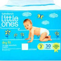 Sainsbury's Little One Nappies