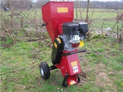 Titan Pro Garden Chipper & Shredder 13 HP Garden Shredder ...