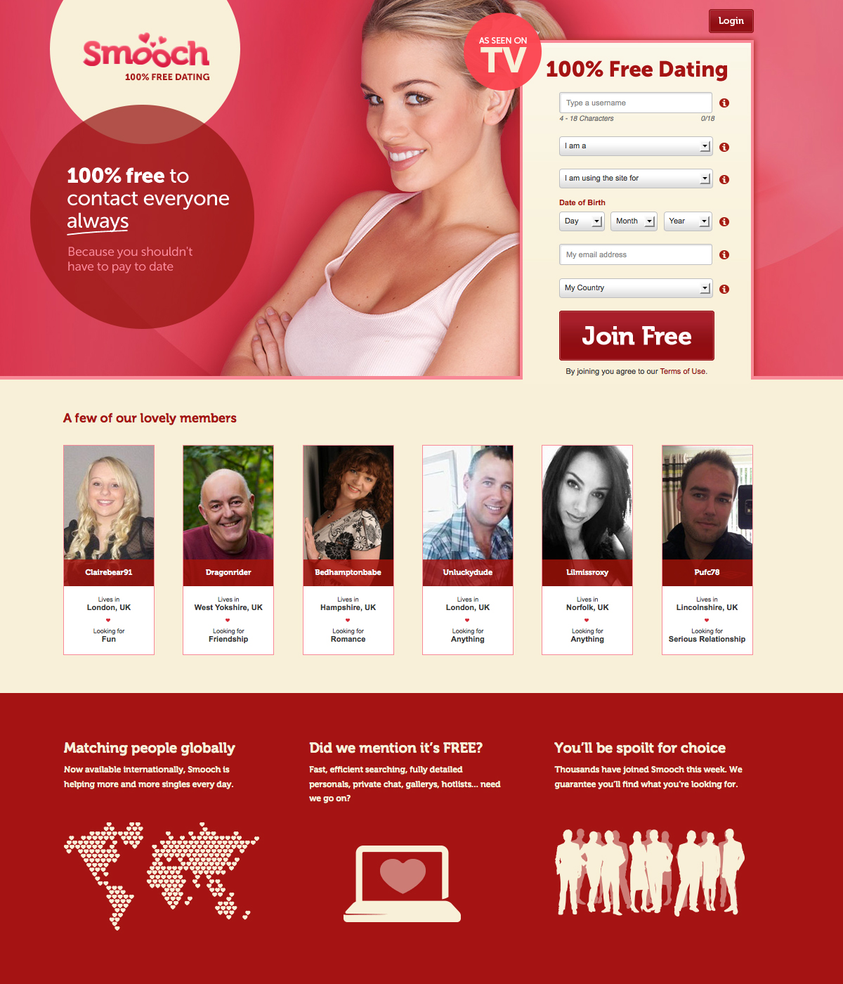 Dating websites (Faceparty etc) Digital Spy